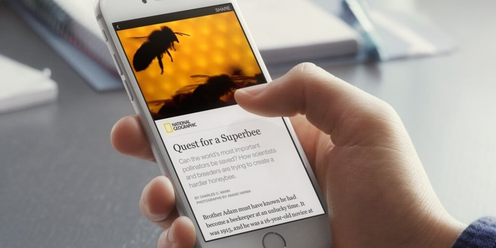 Facebook Instant Article (Symbolfoto)