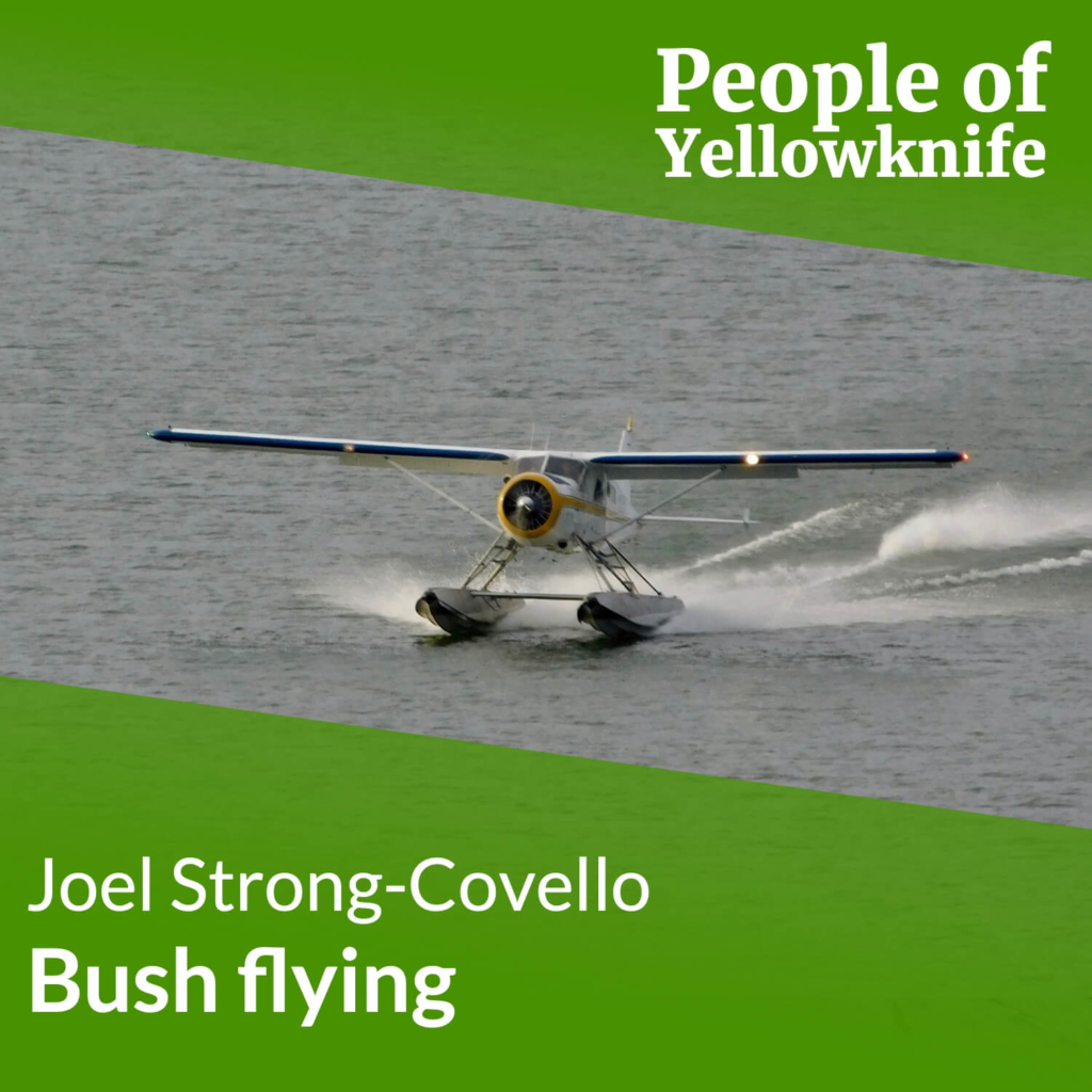Episode Cover of the first episode about bush flying
