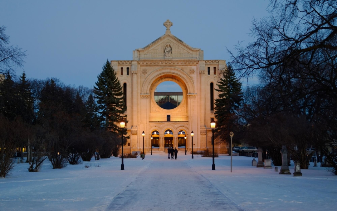 Saint-Boniface-Kathedrale in Winnipeg