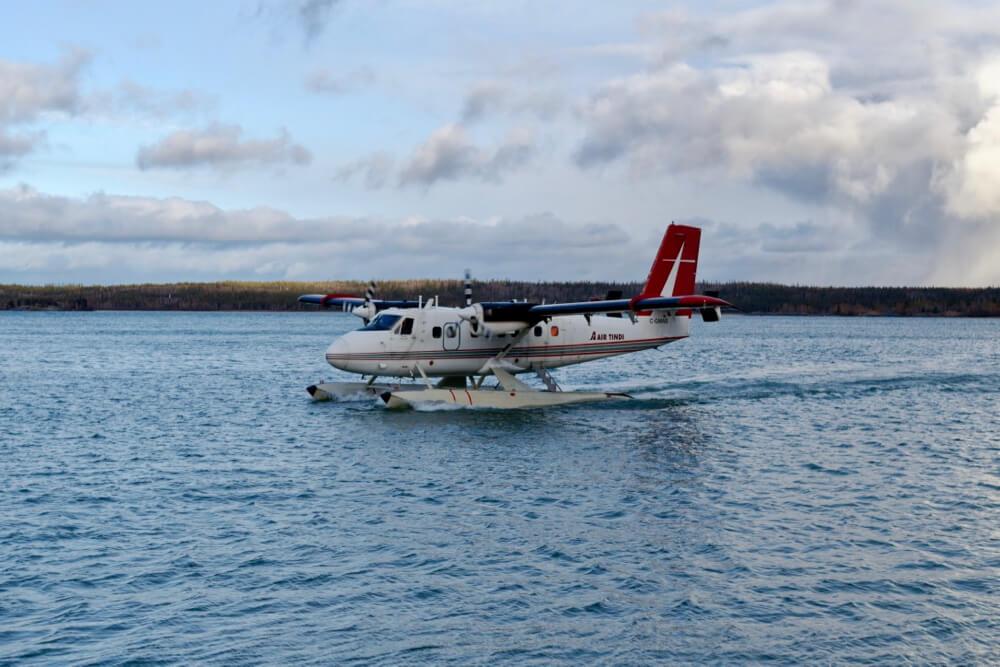 Wasserflugzeug auf dem Großen Sklavensee